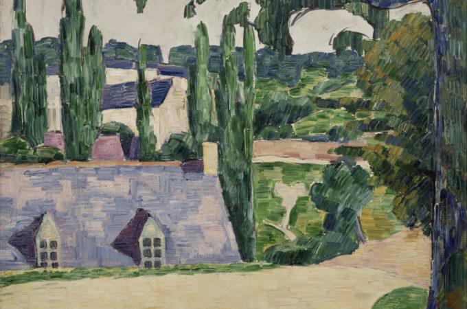 Emile Bernard Paysage de Pont Aven