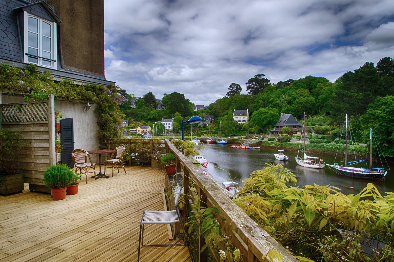 Hotel pont aven et terrasse