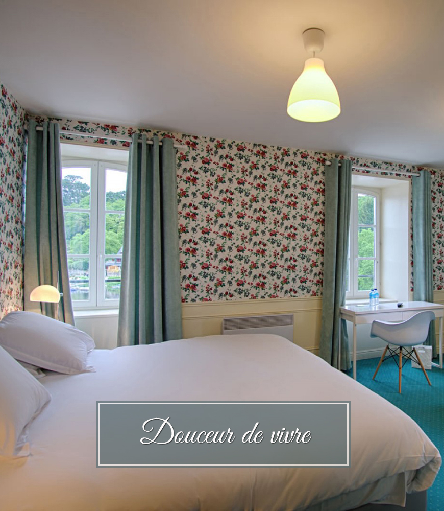 chambre avec vue hôtel Mimosas
